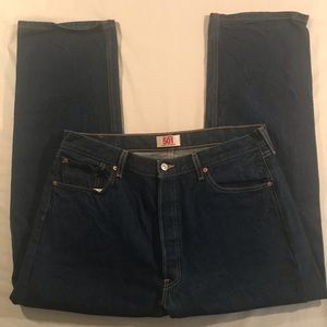 Levi's 501 Straight Leg Button Fly jeans Men 38x31